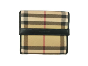 Burberry Classic Check Blue London Wallet