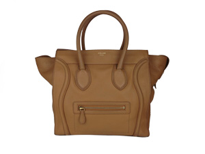 SOLD OUT Celine Camel Grain Leather Mini Luggage Shopper