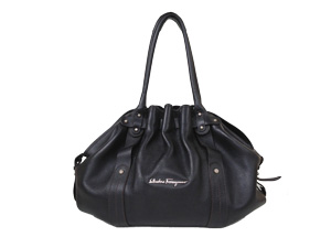 Salvatore Ferragamo Full Leather Shoulder Bag