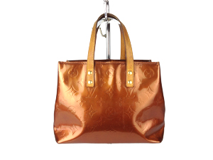 Louis Vuitton Brown Vernis Lead PM