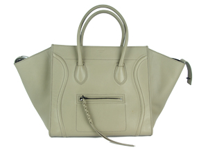 SOLD OUT Celine Luggage Phantom in Supple Calfskin Pearl Grey