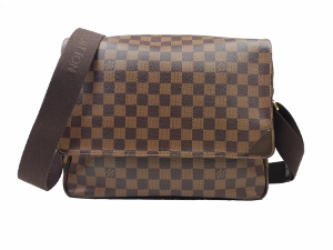 Louis Vuitton Damier Ebene Shelton Messenger Bag