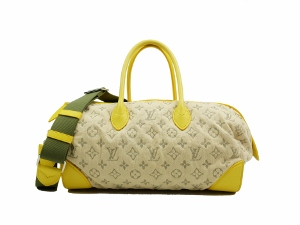 Limited Edition Louis Vuitton Jaune Denim Speedy