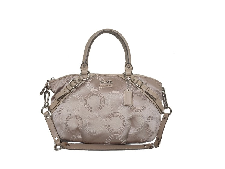 Coach Madison Dotted OP Art Sophia Satchel 15935