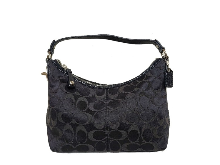 Coach Black Signature Top Handle 43462