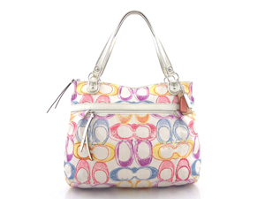BRAND NEW Cooach Poppy Dream C Glam Tote 19023
