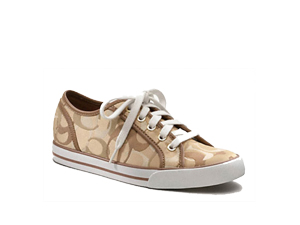BRAND NEW Coach Dee Sneakers Lace-Up Tennis Shoes Khaki