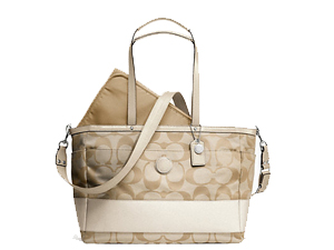 BRAND NEW Coach Signature Stripe Multifunction Tote F19202