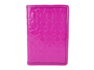 Brand New Embossed Liquid Gloss Card Case Style F63810