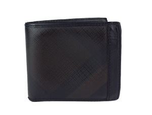 Burberry Smoked Check Men ID Wallet