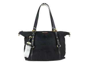 SOLD OUT Prada Nylon Jacquard Tote Bag BR4524