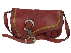Christian Dior Gaucho Double Saddle Large Bag