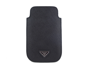 Sold Out Prada Black Saffiano Phone Case