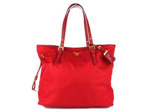 SOLD OUT BRAND NEW Prada Tessuto Shopping Tote Rosso