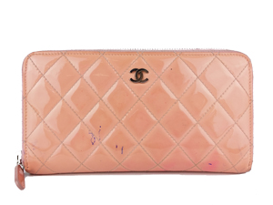 Chanel Pink Patent Leather