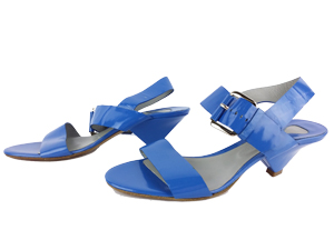 Chloe Blue Patent Leather