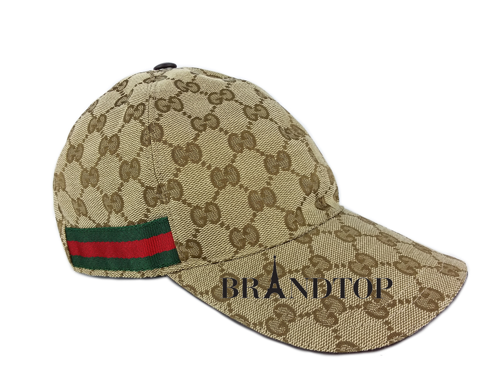 761ccb49 SOLD OUT Gucci GG Pattern Baseball Hat With Web Detail