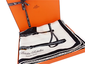 SOLD OUT Hermes Brides Rebelles Silk Scarf