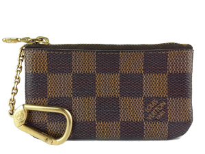 SOLD OUT Louis Vuitton Damier Ebene Canvas Key and Change Holder