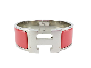 SOLD OUT Hermes Pink Clic-Clac H Bracelet
