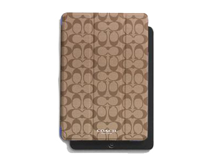 SOLD OUT BRAND NEW Coach Peyton Signature Ipad Mini Trifold Case