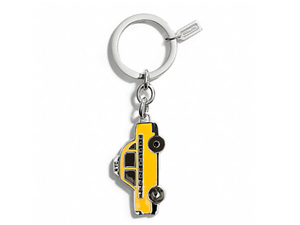 SOLD OUT BRAND NEW Coach Taxi Key Ring F67438
