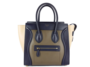 Celine Micro Drummed Leather