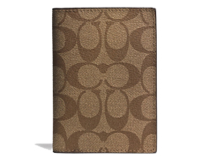 SOLD OUT BRAND NEW Coach Signature Passport Case F77603