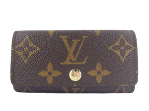 Louis Vuitton  Monogram Canvas 4 Key Holder M62631