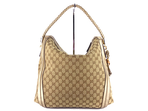 Gucci Belle Large Hobo With Metalic Leather