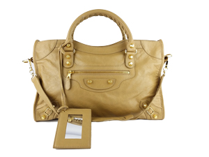 SOLD OUT Balenciaga Light Brown Leather Classic City