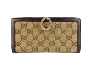 Gucci GG Canvas Long Wallet