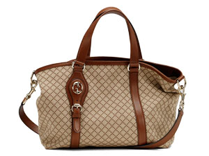 BRAND NEW GUCCI Village Medium Tote With Double G Sling/Shoulder