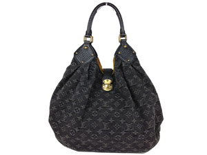 Limited Edition Louis Vuitton XL Denim Noir Handbag