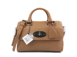 Mulberry Del Rey Small Oak Natural Leather With Soft Gold