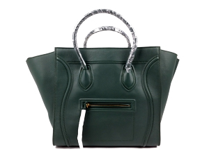 Celine Emerald Green Calfskin Small Phantom