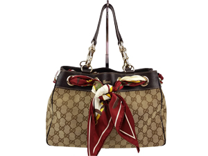 SOLD OUT Gucci Positano Scarf Tote Small