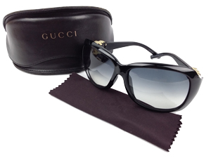 SOLD OUT Gucci GG Black Sunglasses