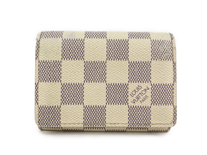 Louis Vuitton Damier Azur Business Card Holder N61746