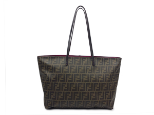 SOLD OUT Fendi Zucca Roll Tote Bag