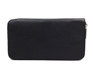 Bally Black Full Leather Clutch