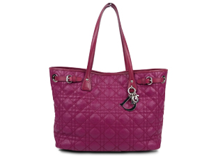 SOLD OUT Christian Dior Panarea Tote With Silver Hardware