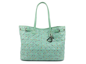 Limiter Edition Christian Dior Panarea Tote With Silver Hardware