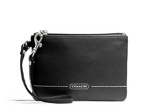 BRAND NEW Coach Park Leather Small Wristlet F49475