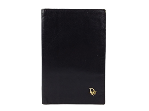 SOLD OUT Christian Dior Passport Holder-Black