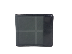 Burberry Charcoal Check Wallet