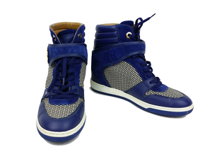 Louis Vuitton Blue Postmark Sneaker