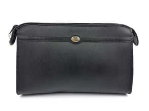 Christian Dior Vintage Trotter Pattern Clutch Bag