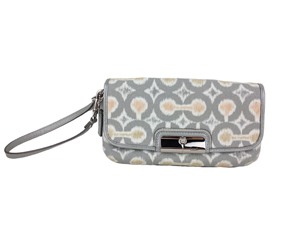 BRAND NEW Coach Kristin Signature Large wristlet