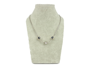 SOLD OUT Louis Vuitton Silver Gamble Necklace